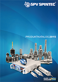 SPV Spintec Product catalogue
