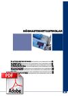 Länk för nedladdning av SPV Spintec Produktkatalog höghastighetsspindlar